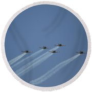 Missing Man Formation Round Beach Towel