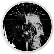 Mist Of Death Round Beach Towel