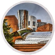Mit Stata Building Center - Cambridge Round Beach Towel