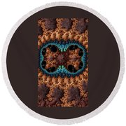 Mitosis - Cards And Phone Cases Round Beach Towel