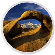 Mobius Arch Round Beach Towel