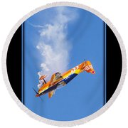 Model Plane 10 Round Beach Towel