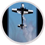 Model Plane 11 Round Beach Towel