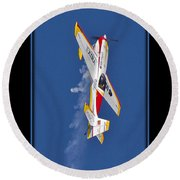 Model Plane 9 Round Beach Towel