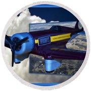 Model Planes Hershey 01 Round Beach Towel