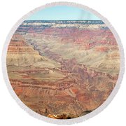 Mohave Point Grand Canyon National Park Round Beach Towel