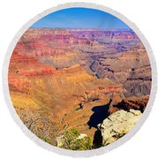 Mohave Pt. Grand Canyon Round Beach Towel