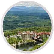 Mohonk Round Beach Towel