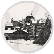 Mohonk Mountain House Round Beach Towel