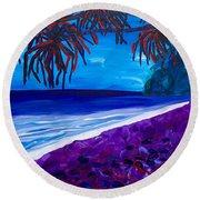 Moloka'i Round Beach Towel