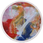 Moments Round Beach Towel
