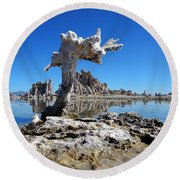 Mono Lake 5709 Round Beach Towel
