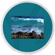 Monterey-3 Round Beach Towel