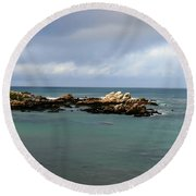 Monterey Bay Round Beach Towel