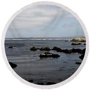 Monterey Bay View Round Beach Towel