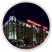 Montgomery Plaza Fort Worth Round Beach Towel