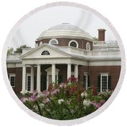 Monticello Estate Round Beach Towel