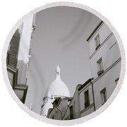 Montmartre Round Beach Towel