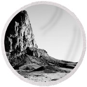 Monument Valley Promontory Round Beach Towel