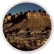 Monument Valley Region-arizona V3 Round Beach Towel