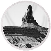 Monument Valley -utah V11 Round Beach Towel