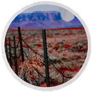 Monument Valley -utah V13 Round Beach Towel