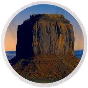 Monument Valley -utah V14 Round Beach Towel