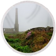 Moody Cornwall  Round Beach Towel