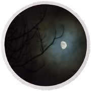 Moon Ring Round Beach Towel