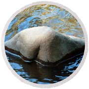 Moon River Round Beach Towel