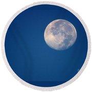 Moon1928 Round Beach Towel