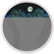 Moonshine Sonata, 2006 Oil On Canvas Round Beach Towel