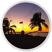 Morada Bay Round Beach Towel