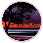 Moreton Bay View Round Beach Towel