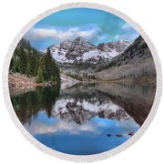 Morning At The Bells Round Beach Towel