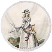 Morning Dresses, Fig. 63 & Fig. 64 Round Beach Towel