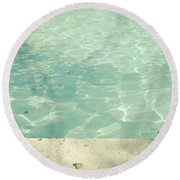Morning Swim Round Beach Towel