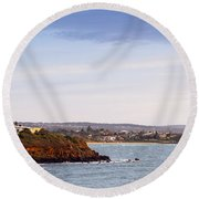 Mornington Peninsula Round Beach Towel