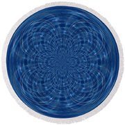 Morphed Art Globes 34 Round Beach Towel
