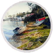 Morro Bay Round Beach Towel