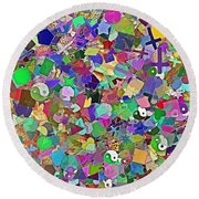 Mosaic 510-11-13 Marucii Round Beach Towel