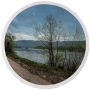 Moselle River Round Beach Towel