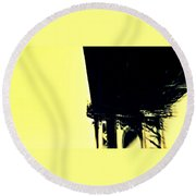 Motion Blur 2 Round Beach Towel