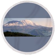 Mount Saint Helens Spirit Round Beach Towel