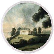 Mount Vernon, 1806 Round Beach Towel