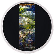Mountain Creek Round Beach Towel