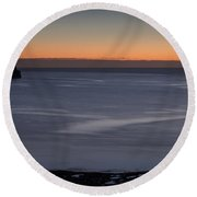 Mouth Of The Tyne Round Beach Towel