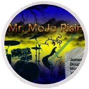 Mr Mojo Risin Round Beach Towel