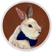 Mr. Rabbit Round Beach Towel