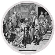 Mrs. Murray And Lord Howe Round Beach Towel